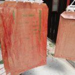 柿渋塗り米袋